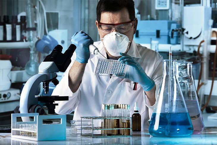 Laboratório de apoio e segurança laboratorial
