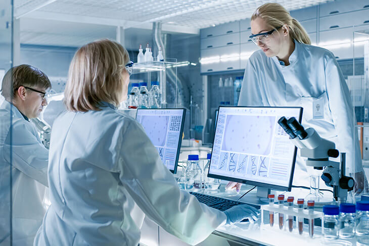 O que é um laboratório de apoio?