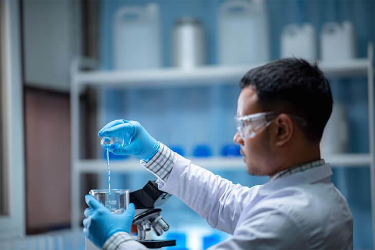 Qual a importância de um laboratório de apoio?